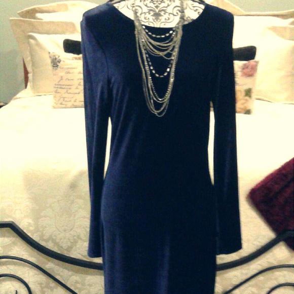 KC Spencer New York Dresses & Skirts - 2/$50 Stunning sapphire blue floor length dress